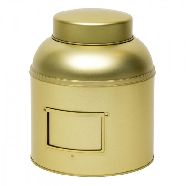 Vorratsdose rund gold Ø 203 mm x 243 mm