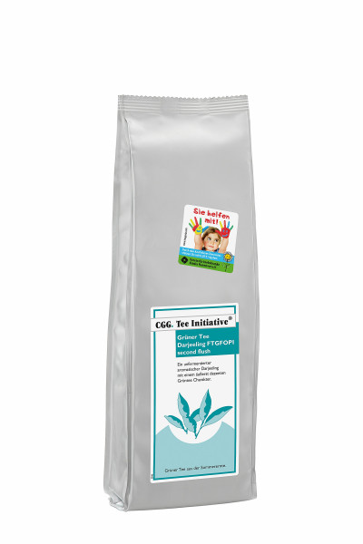 Darjeeling Tee Initiative grün 250g SF