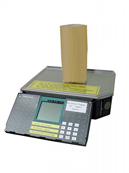 Mettler LP-SPC Euro Flachwaage mit Etikettendrucker
