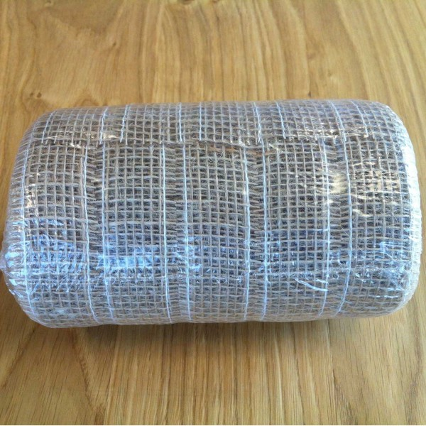 Schleifenband Jute 30 mm à 50 m