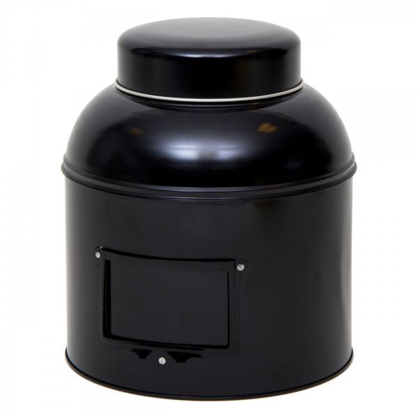 Vorratsdose rund schwarz Ø 203 mm x 243 mm