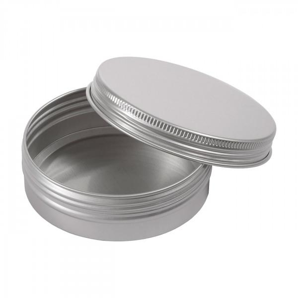 Dose Aluminium rund Ø 83x27 mm Schraubdeckel 125ml