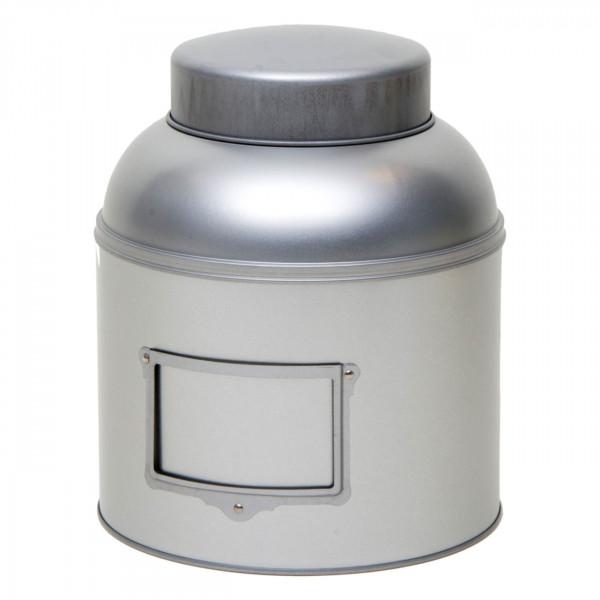 Vorratsdose rund silber Ø 203 mm x 243 mm