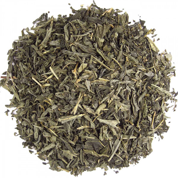 China Sencha decaffeinated-green tea