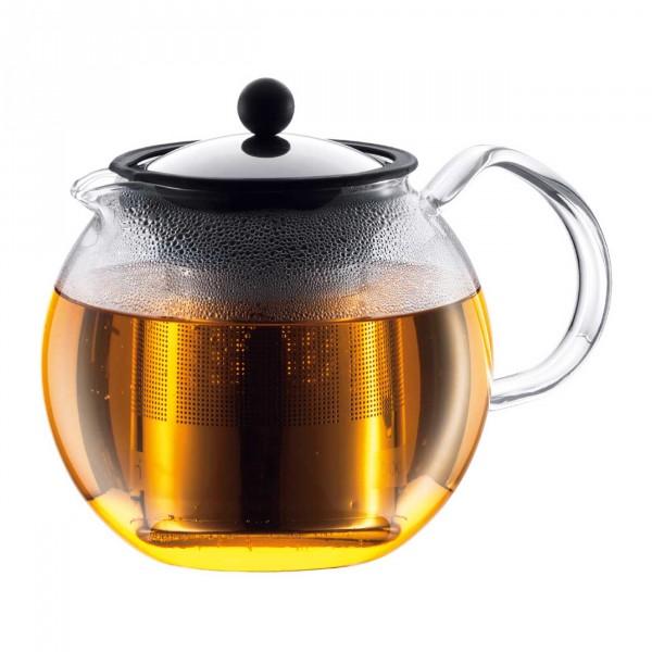 Teekanne Assam 1,0 L Edelstahlfilter