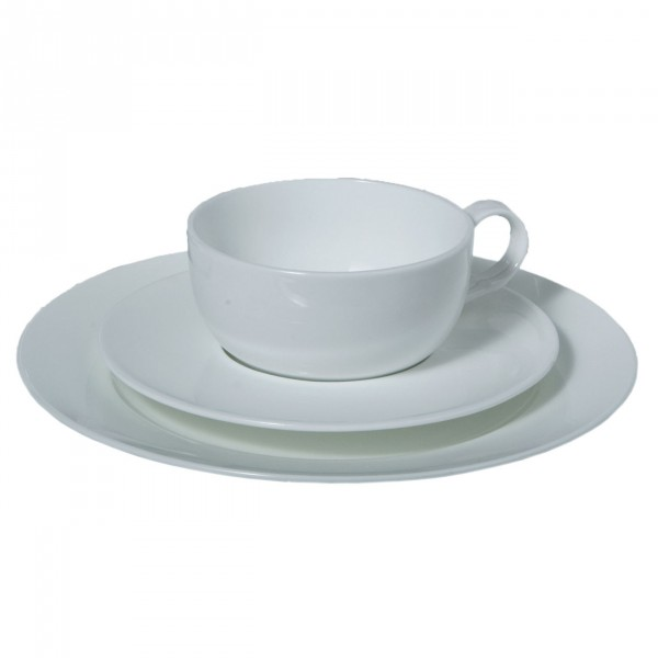 Dessert Plate, Classic White