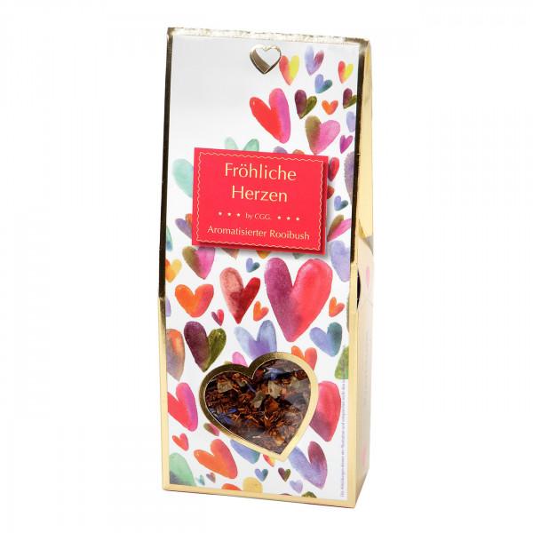 Fröhliche Herzen 90 g (aromatisierter Rooibos/Rooibush)