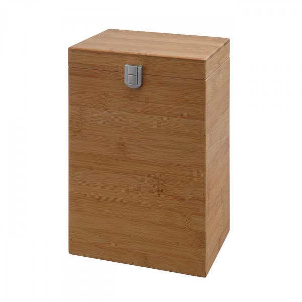 Holzkiste Bambusdose 5 lb Luxusscharnier