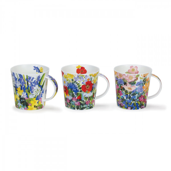 Becher Cair Country Flowers