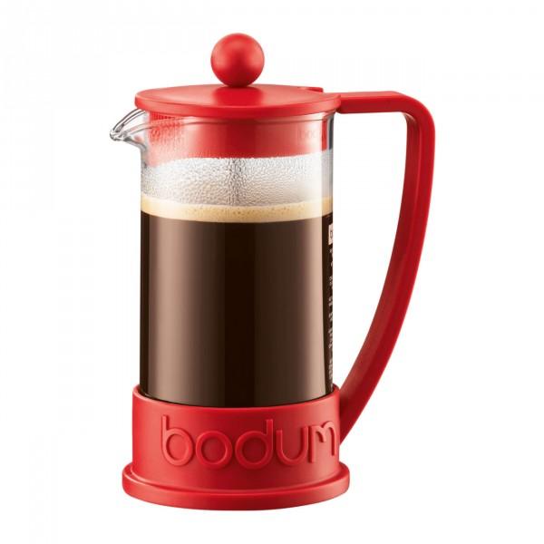 Kaffeebereiter Brazil 0,35 l rot