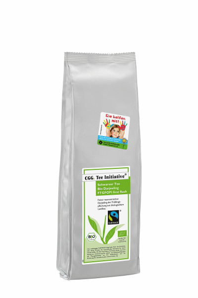 Organic Fairtrade Darjeeling, First Flush SFTGFOP 1, Tea Initiative® 250 g