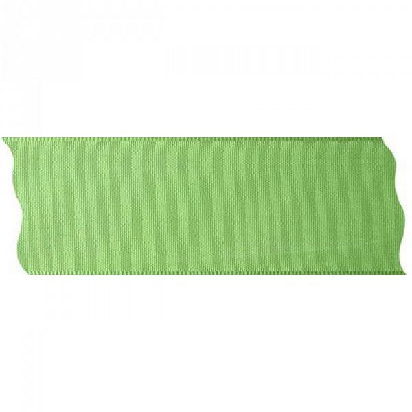 Schleifenband lindgrün 40mm mit Webkante