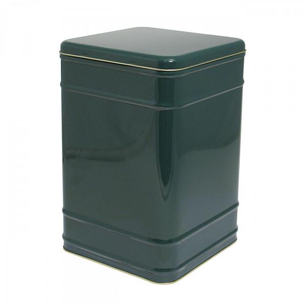 Storage Tin, Square 2000 g, green
