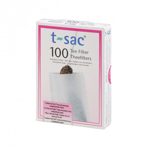 Tea Filter t-sac® 100, size 0, 210-pac