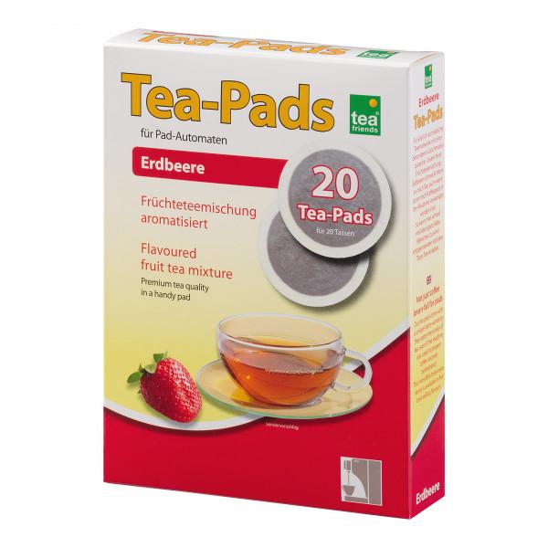 Tea Pads Erdbeere 4504 TFD