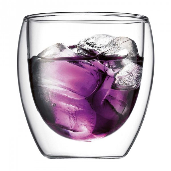 Glass Pavina, Medium 2-pieces Set