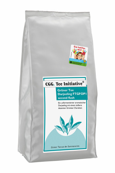 Darjeeling Green Second Flush FTGFOP 1, Tea Initiative® 1000 g