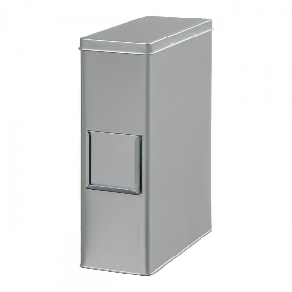 Storage Tin, silver, 1250 g