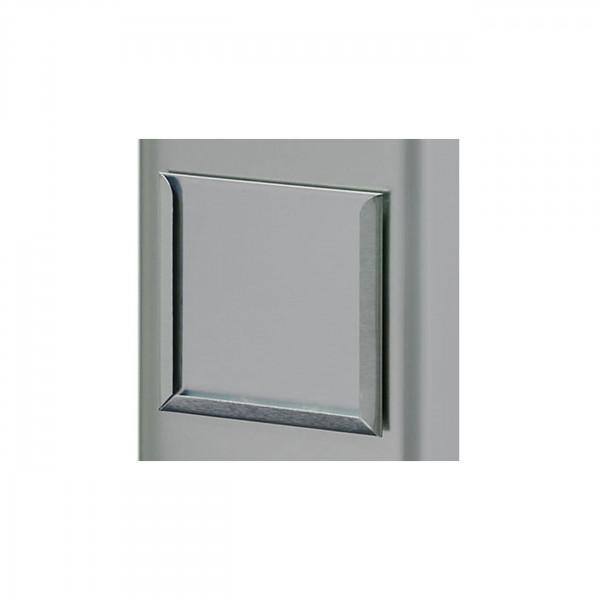 Halter für Etikett silber 64 x 64 x 2 mm