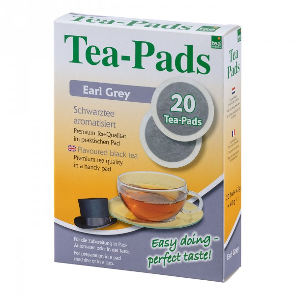 Tea Pads Earl Grey