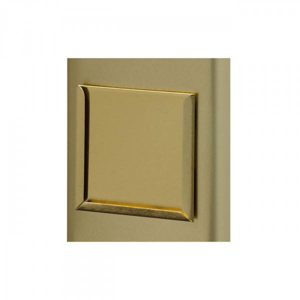Halter für Etikett gold 64 x 64 x 2 mm
